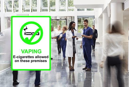 REINO UNIDO: ¡Las tiendas de Vape abren en los hospitales de NHS!