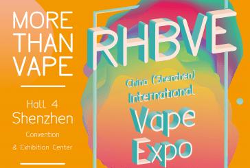 RHBVE (5th China Shenzhen International Vape Expo) – Shenzhen (Chine)