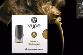 REVUE / TEST : Saveur Classique par Vype