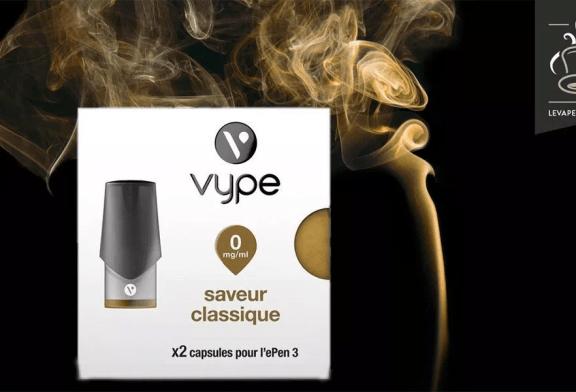 REVUE / TEST: טעם קלאסי מאת Vype