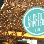 "BIODIVERSITY: Hives are invited on the roof of the e-cigarette company ""Le Petit vapoteur""!"