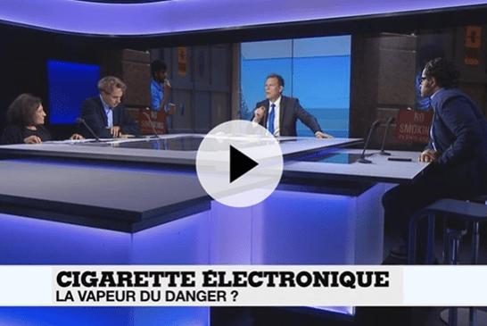 החברה: סיגריה אלקטרונית, אדי הסכנה? מופע בצרפת 24 שנותן תשובות ברורות!
