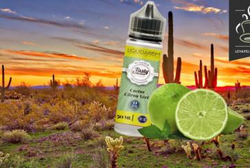 REVUE / TEST : Cactus Citron Vert (Gamme Tasty Collection) par Liquidarom