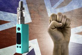 VEREINIGTES KÖNIGREICH: Die E-Zigarette hat mehr als 60.000 geholfen, mit dem Rauchen aufzuhören!
