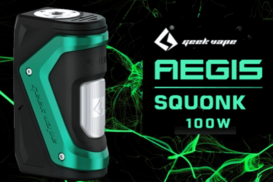 INFORMAZIONI SUL LOTTO: Aegis Squonk 100W (Geek Vape)