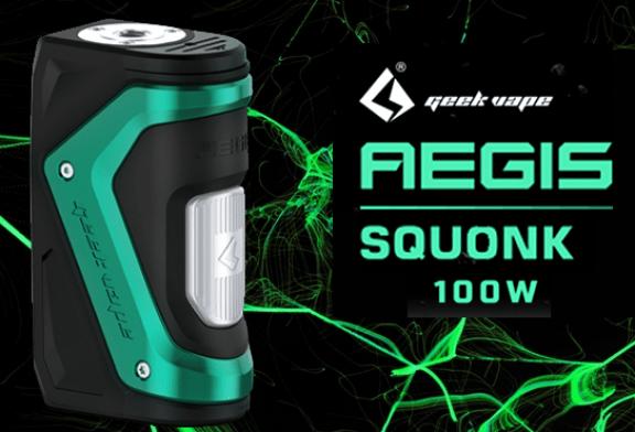 ΠΕΡΙΓΡΑΦΗ ΠΕΡΙΓΡΑΦΗ: Aegis Squonk 100W (Geek Vape)