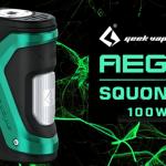 INFO BATCH : Aegis Squonk 100W (Geek Vape)