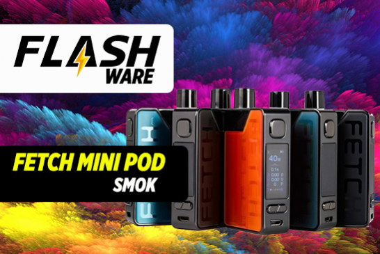 FLASHWARE : Fetch Mini Pod (Smok)