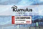 ECONOMIE : Kumulus Vape dans le palmarès des « Champions de la Croissance 2020 » !