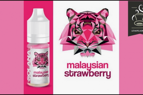 REVISIÓN / PRUEBA: Fresa de Malasia (lista para la gama Vaper) por Solana