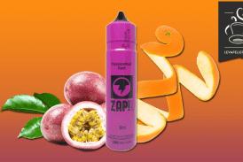 """סקירה / בדיקה: גריסת פסיפלורה (טווח ZAP! 50 מ""""ל) של ZAP JUICE"""