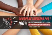 SOLIDARITÉ COVID-19: Vapoteurs.net en Levapelier.com bieden 100% gratis communicatie!