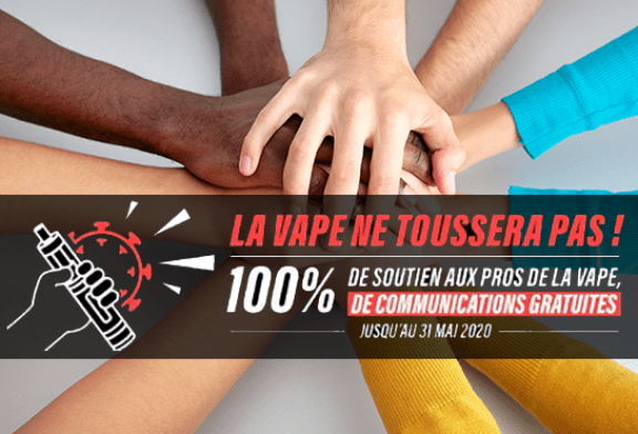 SOLIDARITÉ COVID-19: Vapoteurs.net ו- Levapelier.com מציעים 100% תקשורת בחינם!