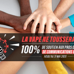 SOLIDARITÉ COVID-19 : Vapoteurs.net et Levapelier.com propose de la communication 100% gratuite !