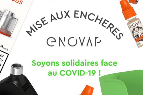 COVID-19: הסטארטאפ Enovap יוצא במבצע הזדהות בפייסבוק!