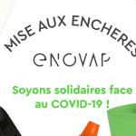 COVID-19 : La start-up Enovap lance une opération de solidarité sur Facebook !