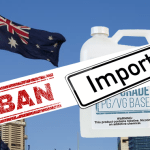 AUSTRALIA: Import ban on nicotine-containing vaping products