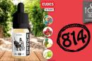 """RECENSIONE / PROVA: Eudes (gamma """"E-Liquid Fruity"""") di 814"""