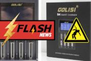 🔴 ВАЖНО: Зарядное устройство Golisi S4 может привести к поражению электрическим током!