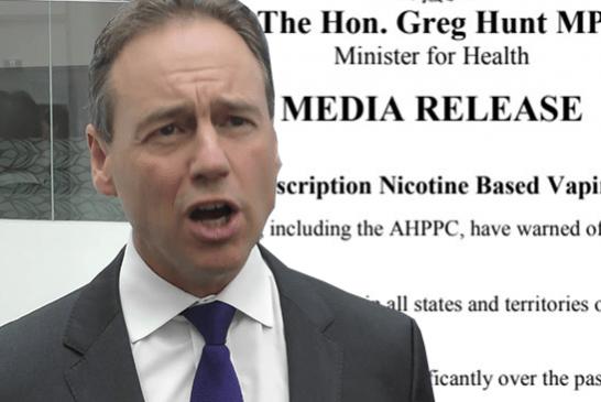 AUSTRALIA: el Ministerio de Salud tiene en cuenta el vapor para dejar de fumar