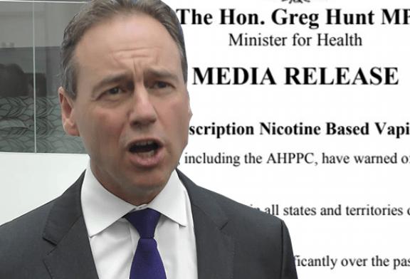 AUSTRALIEN: Das Gesundheitsministerium berücksichtigt Vape bei der Raucherentwöhnung
