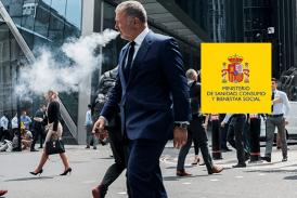 SPANIEN: Das Gesundheitsministerium bittet darum, nach dem Covid-19 ein öffentliches Dampfen zu vermeiden