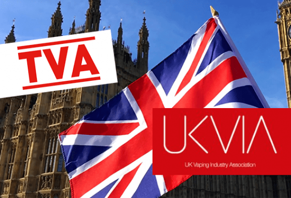 """בריטניה: UKVIA מבקשת שיעור מע""""מ דומה עבור vaping ו- TNR"""