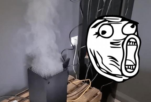 НЕОБЫЧНО: электронная сигарета повинна в споре по поводу перегрева Xbox Series X!
