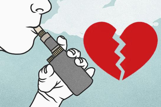ИССЛЕДОВАНИЕ: изменение сердечных клеток из-за ароматов жидкостей для электронных сигарет.