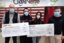 SOLIDARIDAD: Clopinette guarda la receta para el calendario de bomberos