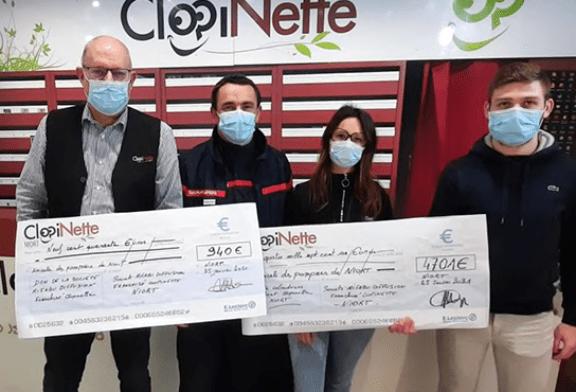 סולידריות: Clopinette שומר את המתכון בלוח השנה של הכבאים