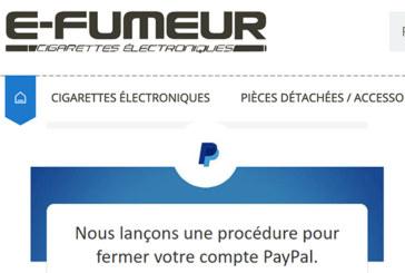 ECONOMIE: De e-rookwinkel is ook het slachtoffer van de willekeurige beslissingen van Paypal