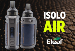 INFO BATCH : iSolo Air ( Eleaf )