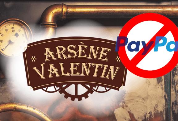 ECONOMIA: Nella sua lotta contro lo svapo, Paypal espelle Arsène Valentin!