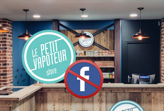 ECONOMY: Le Petit Vapoteur is putting an end to its stores' Facebook pages!