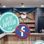ECONOMÍA: ¡Le Petit Vapoteur pone fin a las páginas de Facebook de sus tiendas!