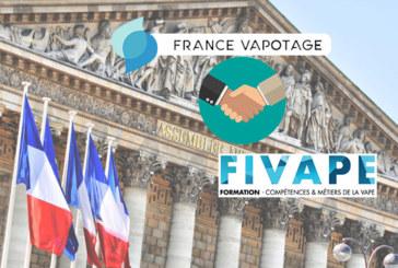 ПОЛИТИКА: France Vapotage и Fivape рука об руку в Национальном собрании.