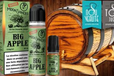 审查/测试:Moonshiners Liquids的大苹果