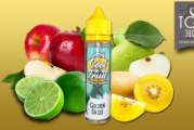 REVIEW / TEST: Golden Drizz (Cool n'Fruit Range) by Alfaliquid