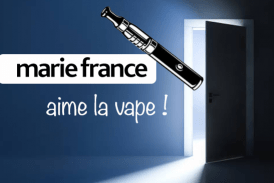 SAMENLEVING: De media van Marie France doen een stap terug op e-sigaretten!