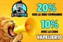 BON PLAN : Avec le code «VAPELIER10», obtenez 10% de réduction chez Le Petit Fumeur !