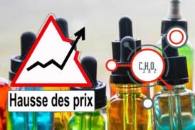 ÉCONOMIE : Pénurie de Propylène glycol, vers une flambée du prix des produits de vapotage ?