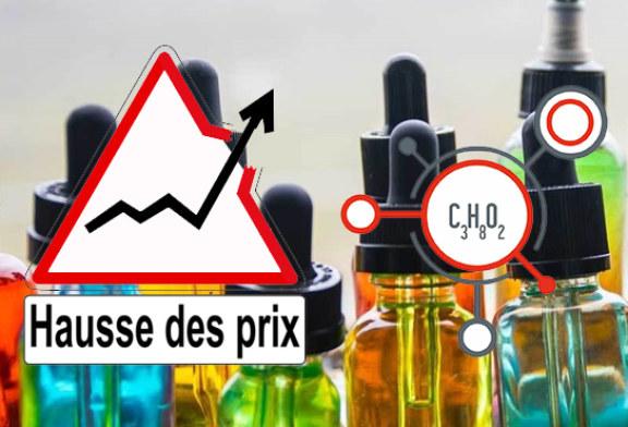 ECONOMIA: carenza di glicole propilenico, verso un aumento del prezzo dei prodotti da svapo?