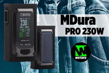 INFORMAZIONI SUL LOTTO: MDura Pro 230W (Wotofo)