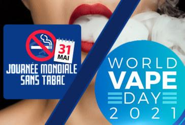 "GESELLSCHAFT: Welt-""No Tobacco""- oder ""Vaping""-Tag, es liegt an Ihnen!"