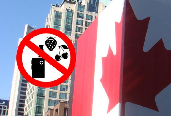 КАНАДА: К постановлению, запрещающему ароматизаторы вейпинга!