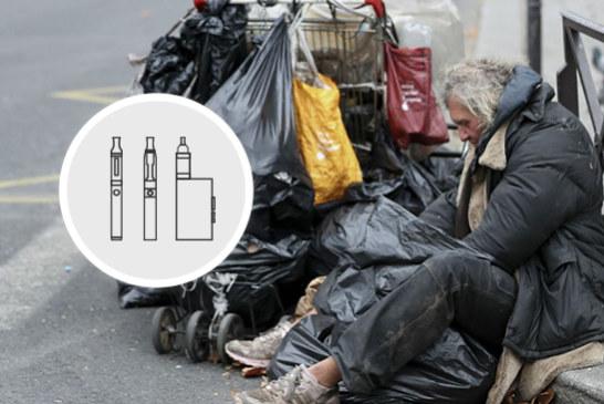 ΗΝΩΜΕΝΟ ΒΑΣΙΛΕΙΟ: Σταματήστε το κάπνισμα, δωρεάν ηλεκτρονικά τσιγάρα για τους άστεγους!