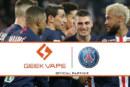 ECONOMIE: Geekvape, de Chinese gigantische nieuwe sponsor van Paris Saint Germain!