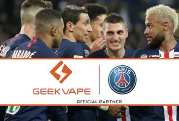 WIRTSCHAFT: Geekvape, der chinesische Gigant neuer Sponsor von Paris Saint Germain!