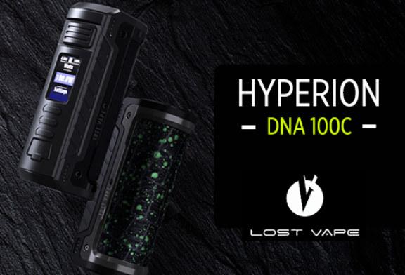 BATCHINFO: Hyperion DNA 100C (verloren damp)